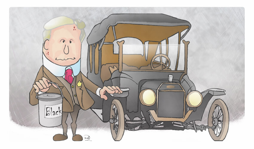 Henry Ford - Followership by ARTMART