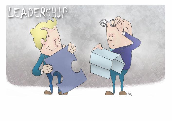 Leadership Graphic by Martin Richardson - Matrix Development (Human Resources) Ltd