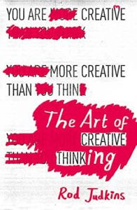 The art of creative thinking - book cover